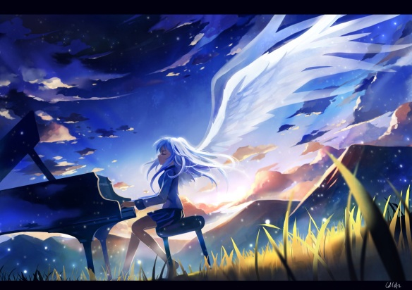 Angel beats-Kanade