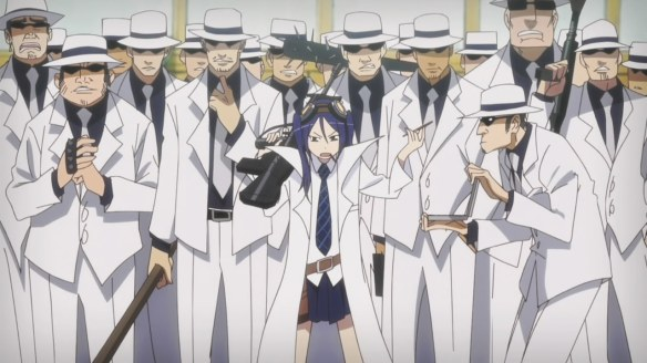 I'd totally watch a spin-off of Shouko and the men in white